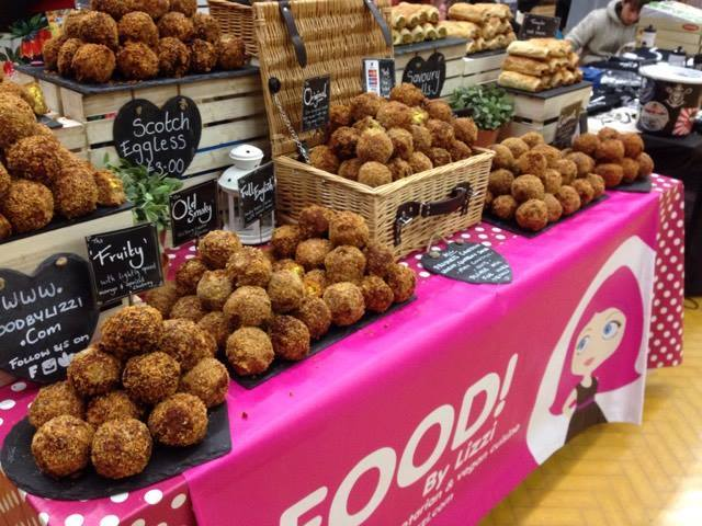 Eggless scotch eggs made possible by Food by Lizi last year