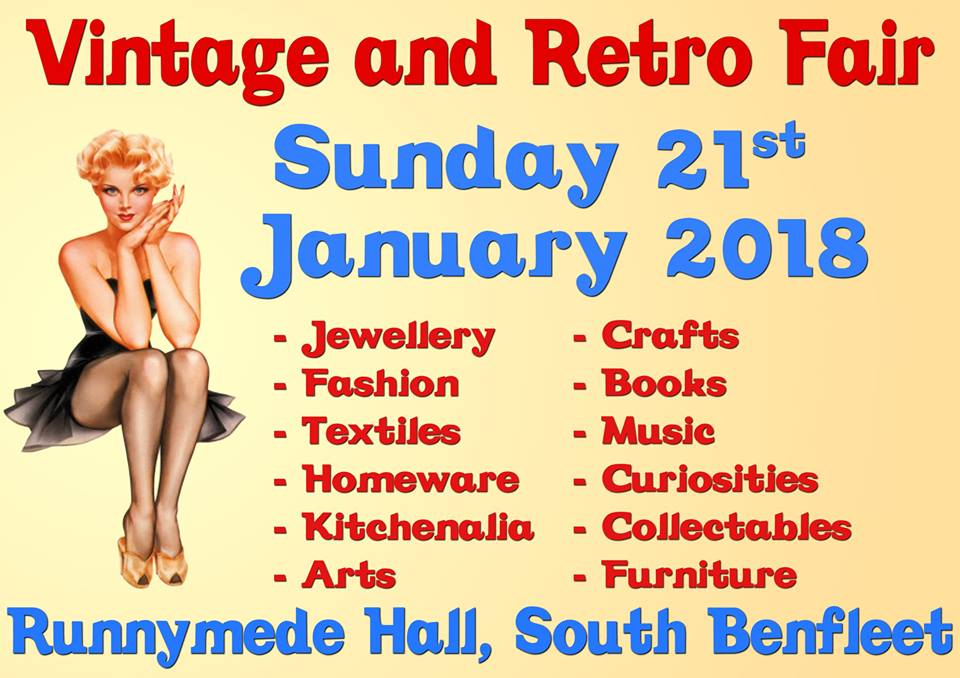 Runnymede Vintage & Retro Fair, Benfleet