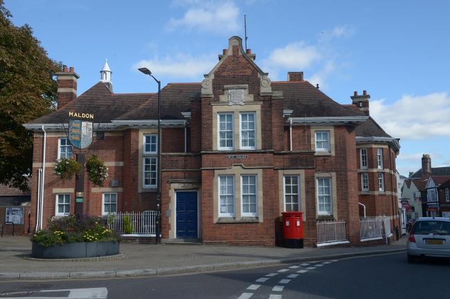 Old police station building - West Square..General views around Maldon, Essex.