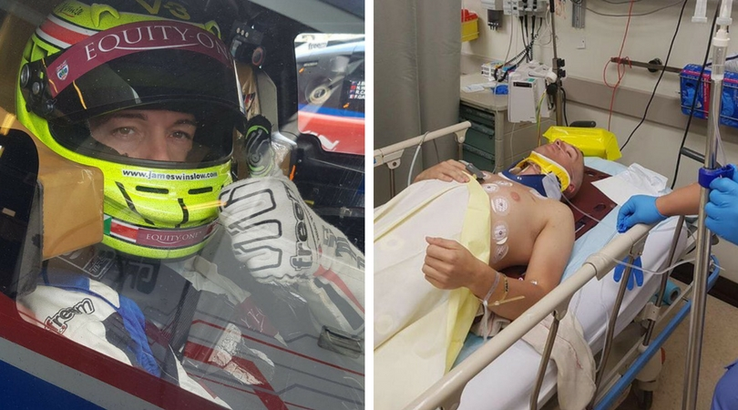 'I thought it was game over' - racing driver from Witham lucky to survive 149mph crash