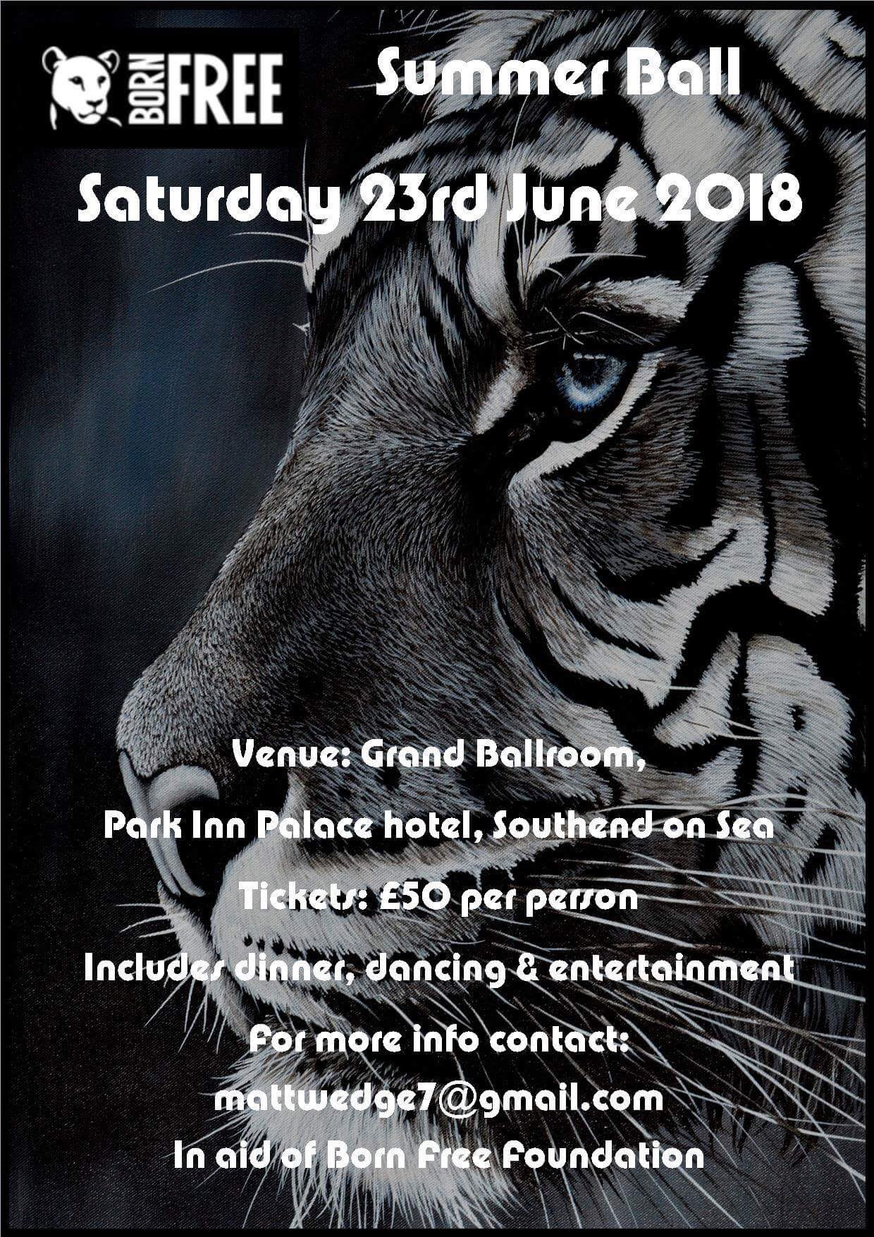 Born Free Foundation Summer Ball