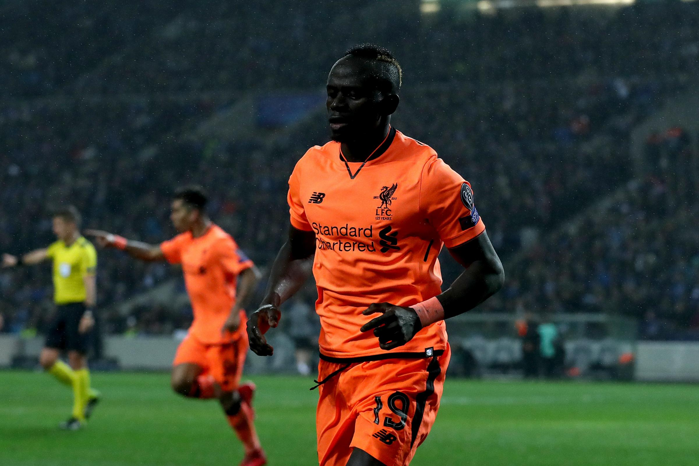 Sadio Mane was Liverpool's hat-trick hero in Portugal (Tim Goode/Empics)