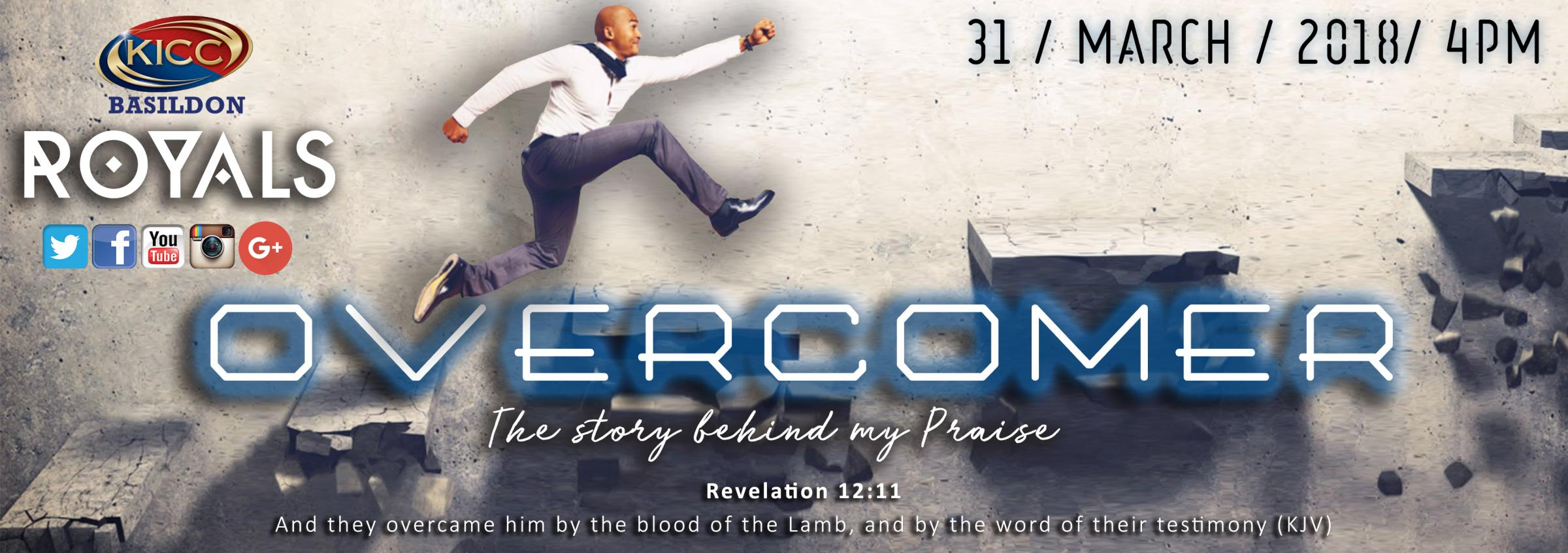 OVERCOMER: The story behind my praise