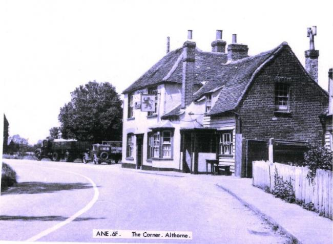 Historic Photos: A picture of the former Black Lion pub in Althorne