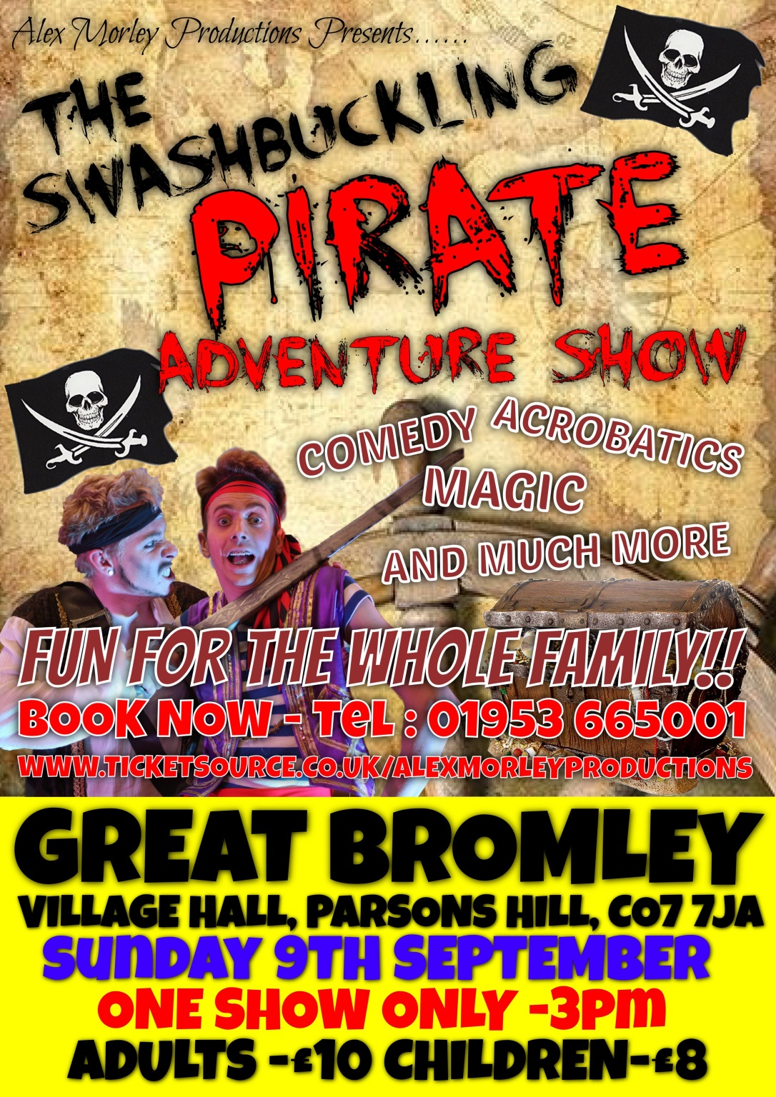The Swashbuckling Pirate Adventure Show