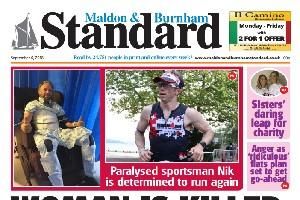 In this week's Maldon and Burnham Standard