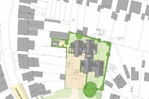 "Calls for ""claustrophobic"" ten flats plan in Burnham to be refused"
