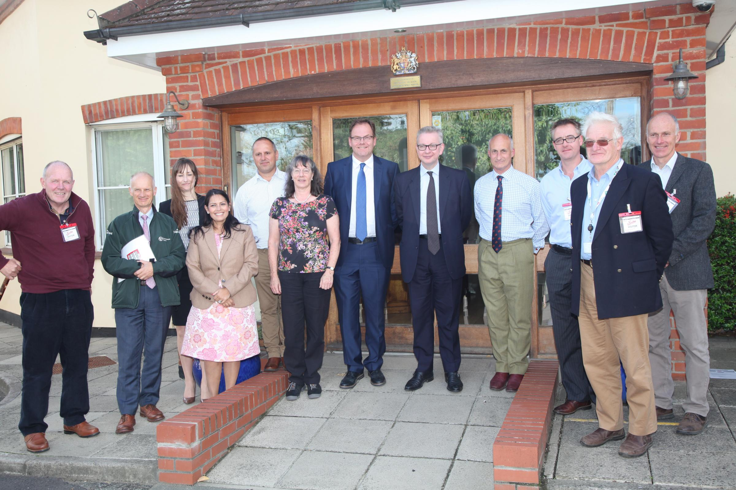 Michael Gove visits Wilkin and Sons