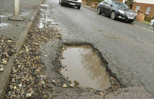 Pothole PROBLEMS: County Hall infrastructure boss Kevin Bentley has asked councillors to provide a top 20 list of road defects causing chaos for drivers