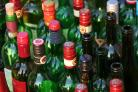 Glass bottle collections and garden waste collections were missed. Stock image