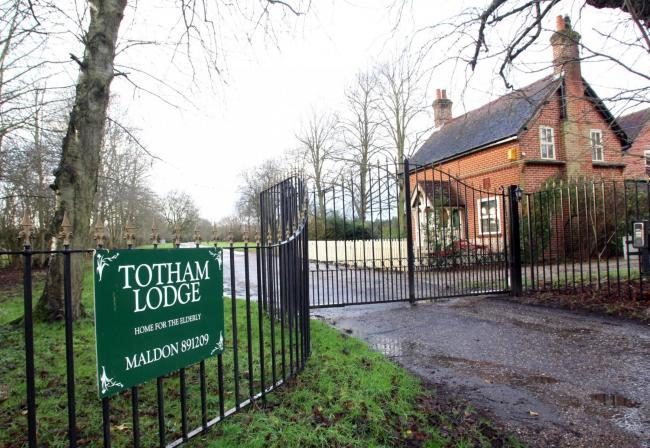 RATED GOOD: Totham Lodge care home