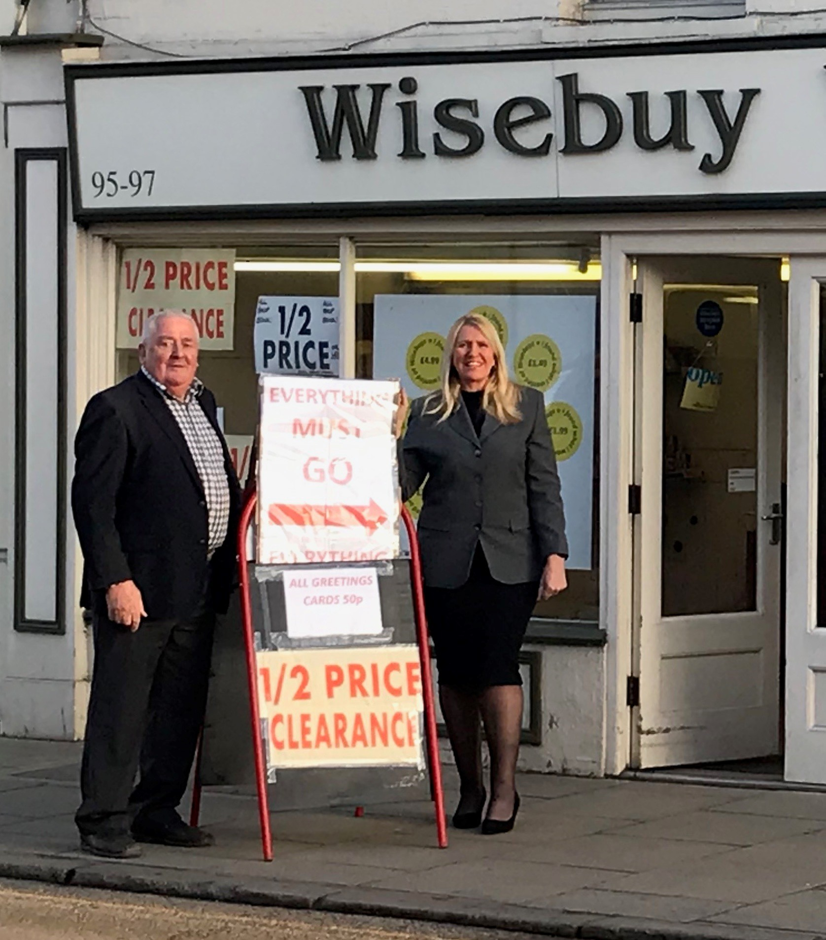 GOODBYE: Wisebuys is closing after 29 years in Halstead