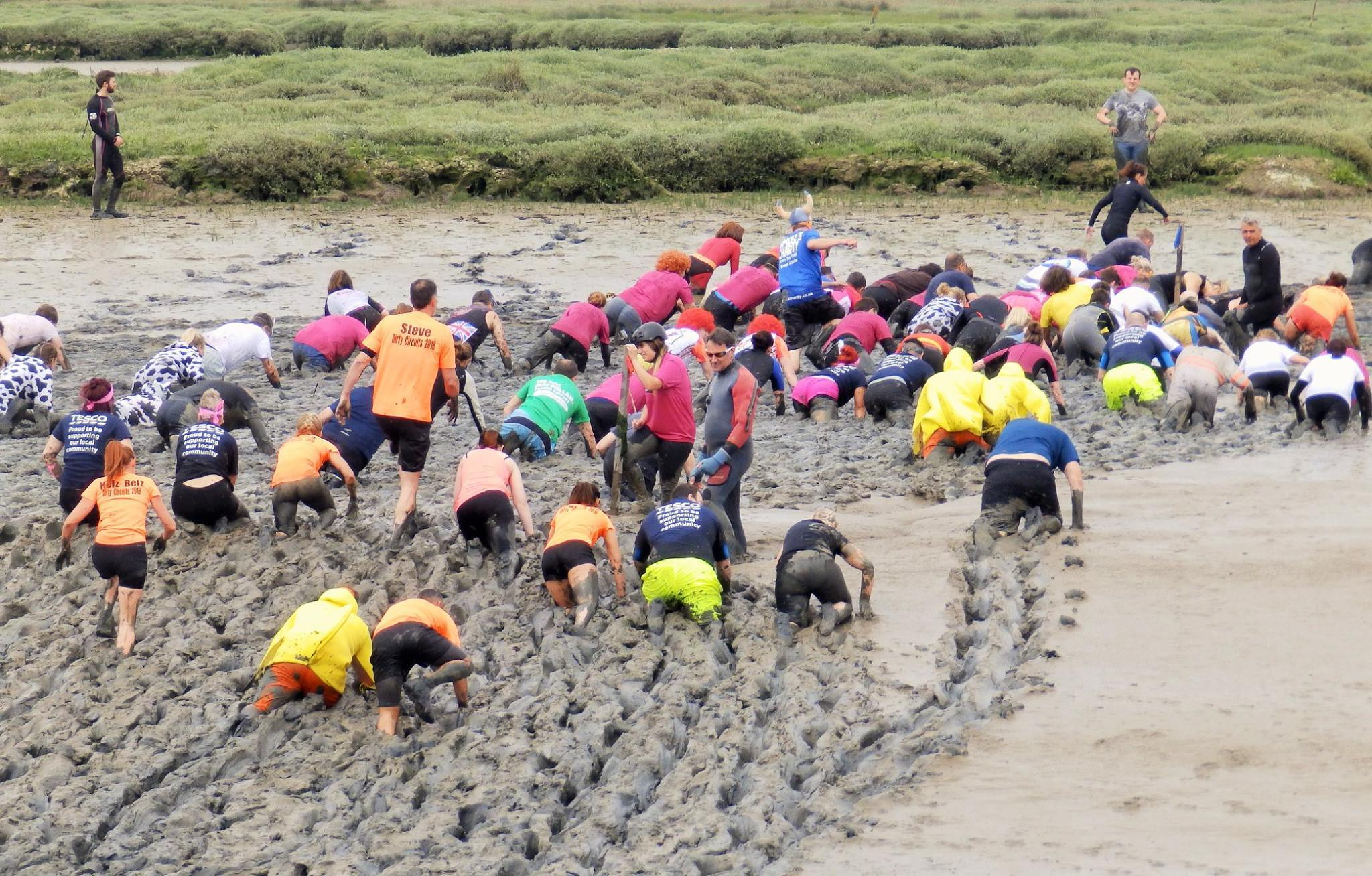 Another year: In Maldon District Council's budget, a number of annual events have been maintained including the annual Mud Race