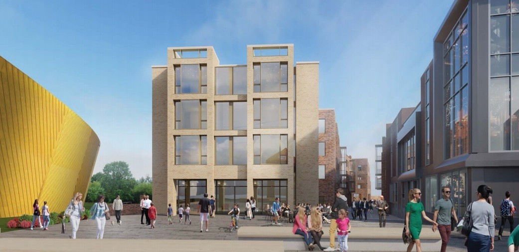 Disaster - residents of Greyfriars Court say the development of Colchester's so-called cultural quarter could be an