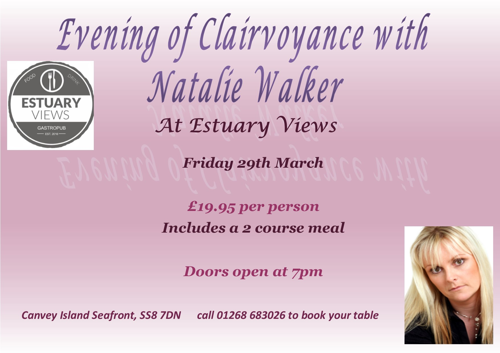 Evening of Clairvoyance with Natalie Walker