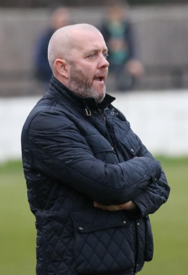 IN THE DUGOUT - Heybridge Swifts boss Julian Dicks