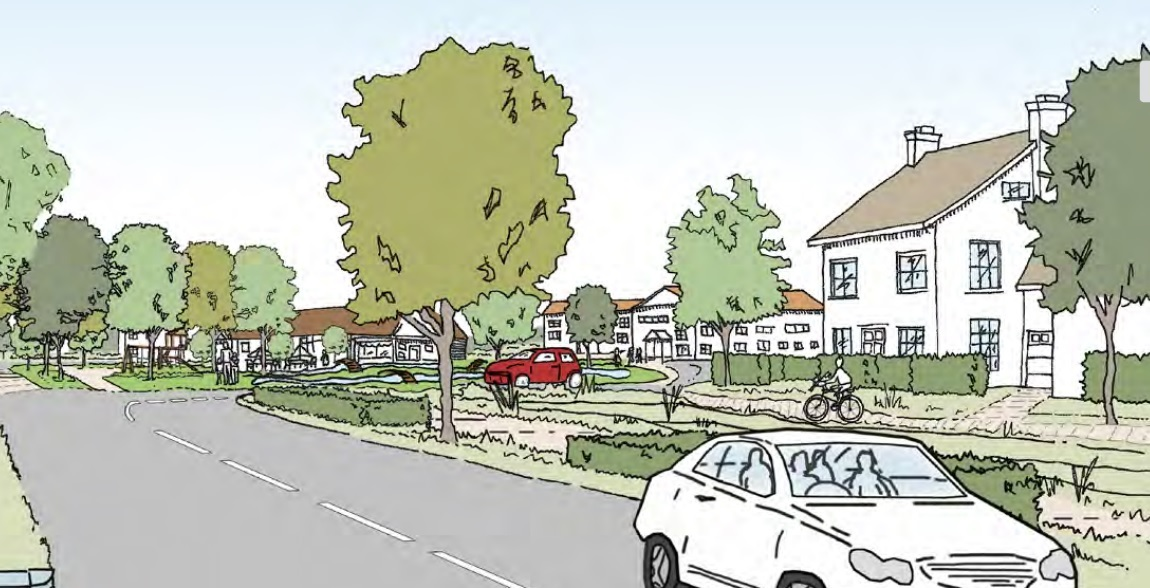 REFUSED: The 1,138 house plan was refused by Maldon District Council despite recommendations to approve