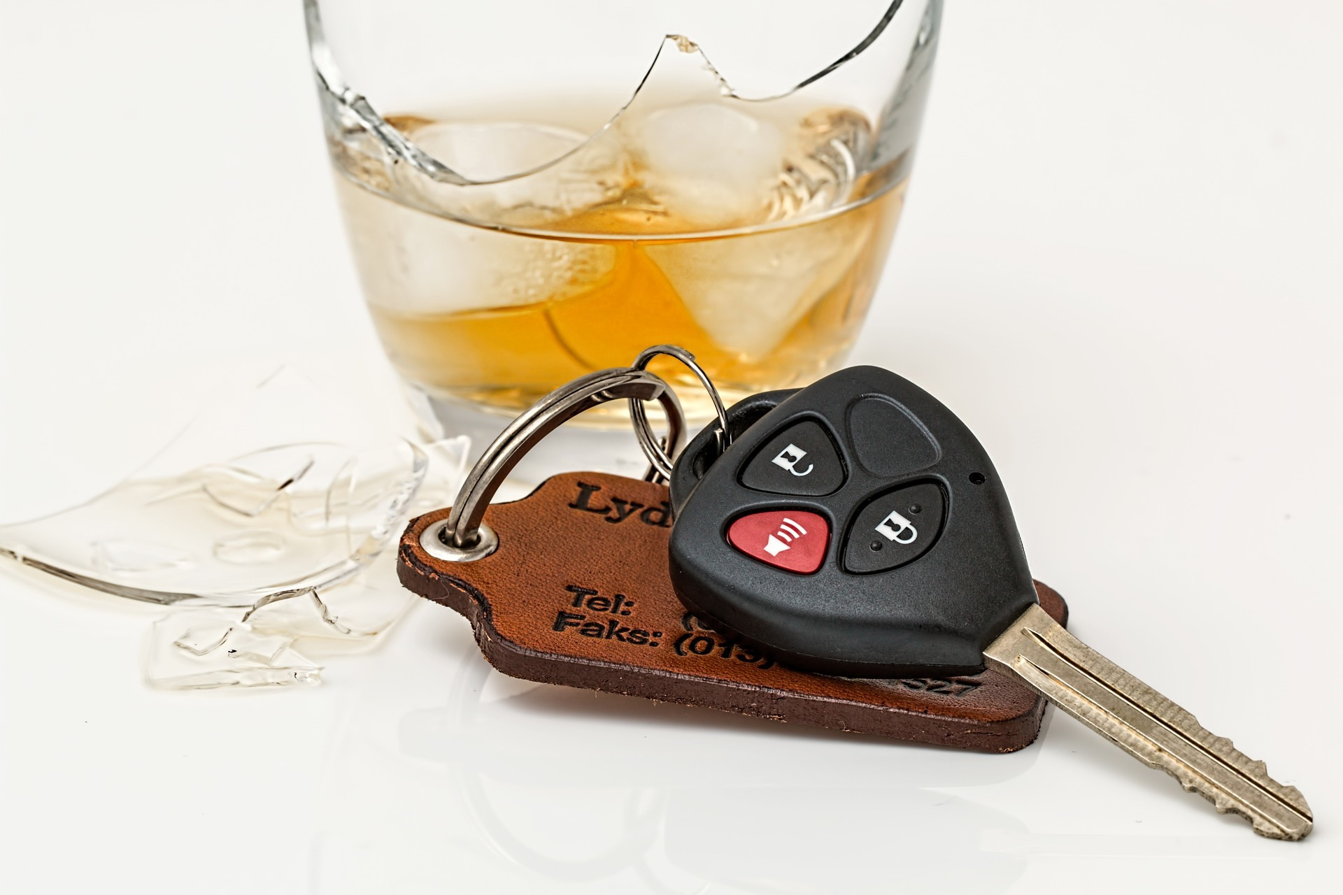 Drink driving stock image