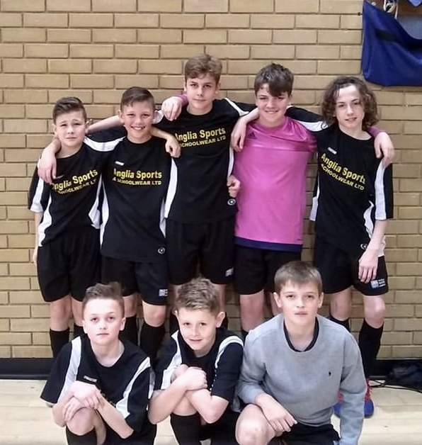 WELL DONE: The Ormiston Rivers Academy under 13s futsal team took home third place in this year's county finals