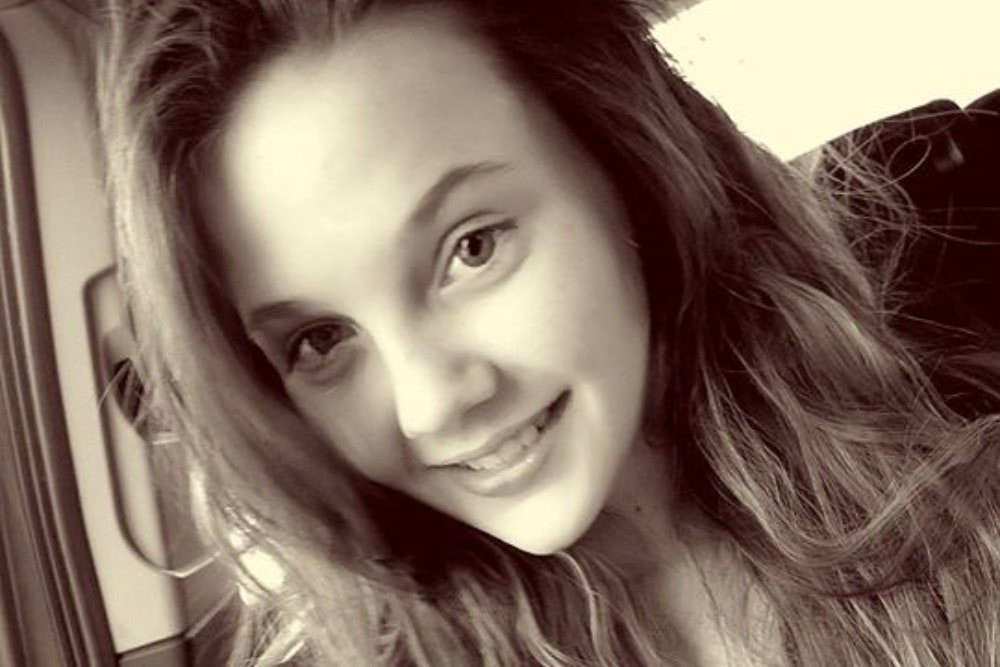 14-year-old Georgia Bonnett, who went missing after last being seen at a college in Fife