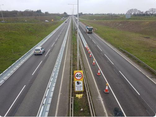 A13 pic by Thurrock Council