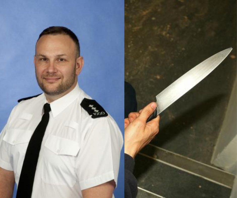 Chief Insp Gerry Parker has reassured residents after a number of stabbings and knife attacks in Maldon and Chelmsford this month
