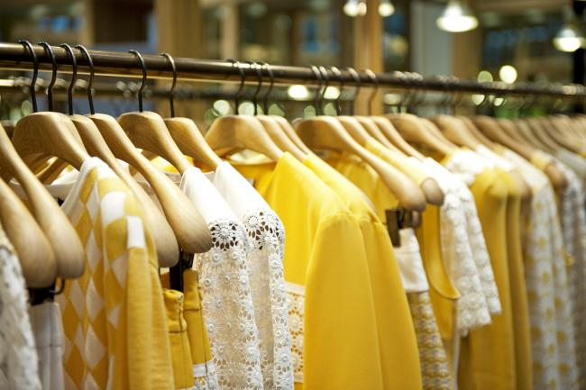 A rail of female summer clothes. Photo: PA/thinkstockphotos