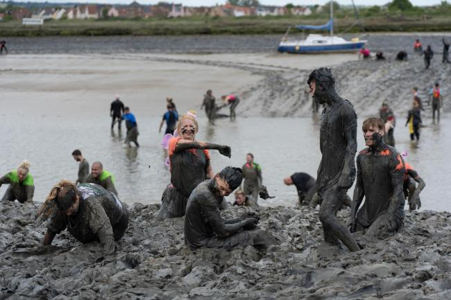 Tesco's community champions team supported the Maldon Mud Race for a third year in 2019