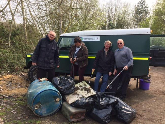 Maldon District Council's Coast and Countryside Team hosted clear up missions across Maldon District