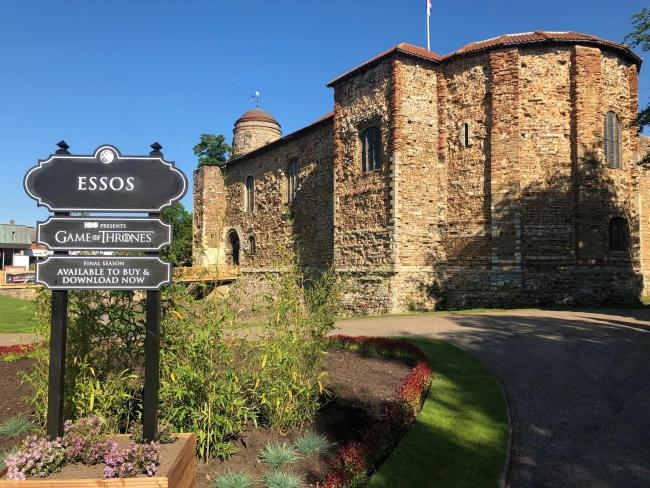 Game of Thrones takes over Colchester Castle to celebrate show's finale
