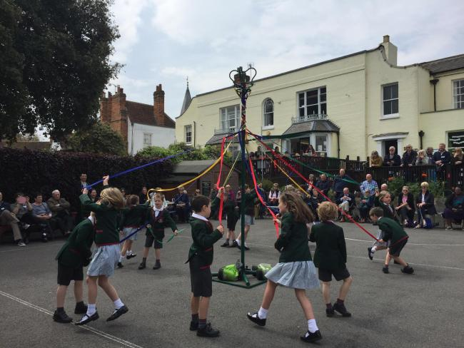 FUN DAY: Grandparents were invited to enjoy a day of songs and maypole dancing at the Maldon Court Preparatory School
