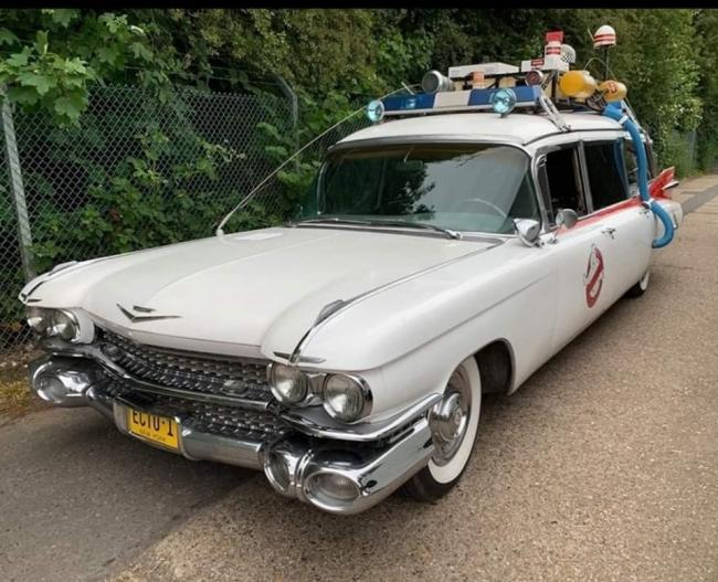 Original - the Ecto1 Ghostbusters vehicle featured in the 1984 film will be at The Royals Shopping Centre in Southend on Saturday